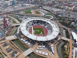 Olympisch stadion Londen West Ham