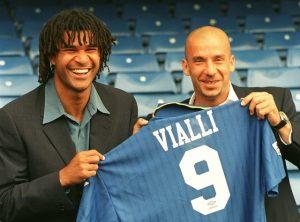 Gullit en Vialli. Bron